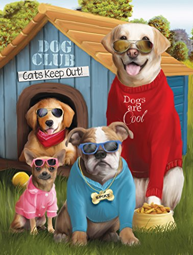 Dogs are Cool a 500-Piece Jigsaw Puzzle by Sunsout Inc.