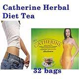 32 bags CHRYSANTHEMUM CATHERINE INFUSION SLIMMING HERBAL TEA WEIGHT LOSS DETOX.