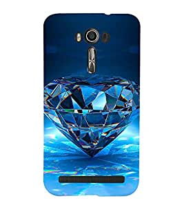 Vizagbeats diamond Back Case Cover for Asus Zenfone 2 Laser ZE550KL::Asus Zenfone 2 Laser ZE550KL (5.5 Inches)