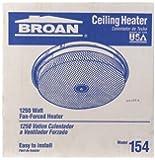 Broan #154 1250w Ceiling Mount Heater