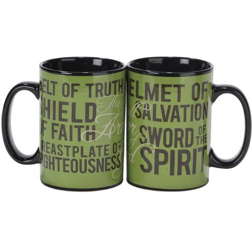 Armor Of God Psalm 126:3 16 Oz Porcelain Coffee Mug