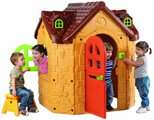 "ECR4Kids 50"" x 47"" x 57"" Fancy Children's Play House"