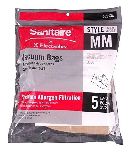 Type MM Sanitaire Vacuum Cleaner Replacement Bag (5 Pack) (Vacuum Bag Sanitaire compare prices)
