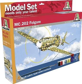 Italeri - I71222 - Maquette - Aviation - Macchi MC 202 Folgore - Echelle 1:72