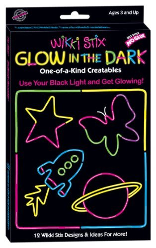 Colorful, Non-Toxic Wax And Yarn Product To Stimulate Imagination And Creativity. - Wikki Stix Glow in the Dark
