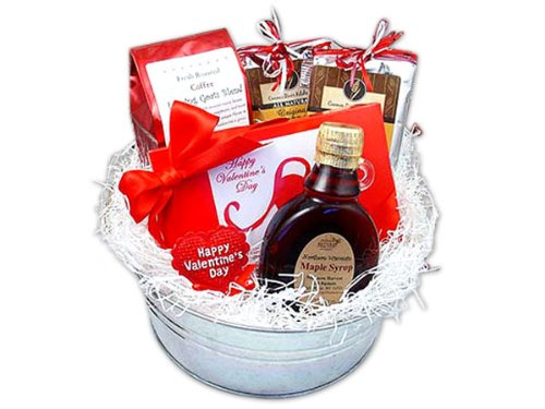 Be Mine Valentine Breakfast Gift Bucket