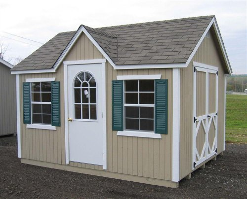 Classic Wood Cottage (8 ft. x 12 ft.)