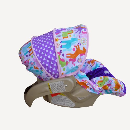 Magic Unicorns Infant Car Seat Cover