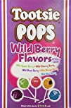 Tootsie Pops Lollipops Wild Berry Fla…