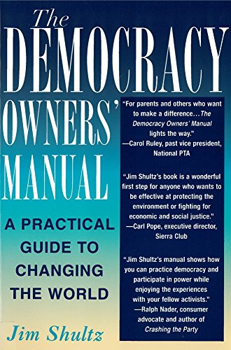 Image for The Democracy Owners' Manual: A Practical Guide to Changing the World