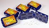 Pillendose 6 Stück -K&B Vertrieb- Pillenbox Tablettendose Tablettenbox Medikamentendose Medikamentenbox