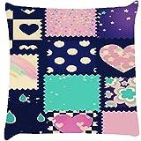 Snoogg Abstract Cute Cushion Cover Throw Pillows 16 X 16 Inch