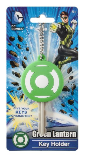 DC Green Lantern Logo Soft Touch PVC Key Holder - 1