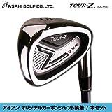 ASAHI GOLF(アサヒゴルフ)TOUR-Z(ツアーZ)アイアン オリジナルカーボンシャフト装着7本セット(#5〜PW、SW)TZ-900