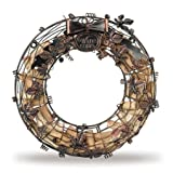 Epic Products Cork Cage Wreath, 13.25-Inch