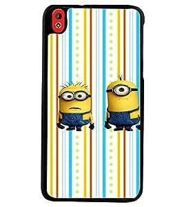 PRINTVISA Minion Funny Case Cover for HTC Desire 816