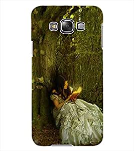 ColourCraft Cute Girl Design Back Case Cover for SAMSUNG GALAXY GRAND MAX G720