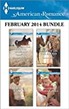 51UG8ZYmyFL. SL160  Harlequin American Romance February 2014 Bundle: Her Rancher Rescuer\Her Secret Cowboy\Blame It on the Rodeo\Second Chance Family