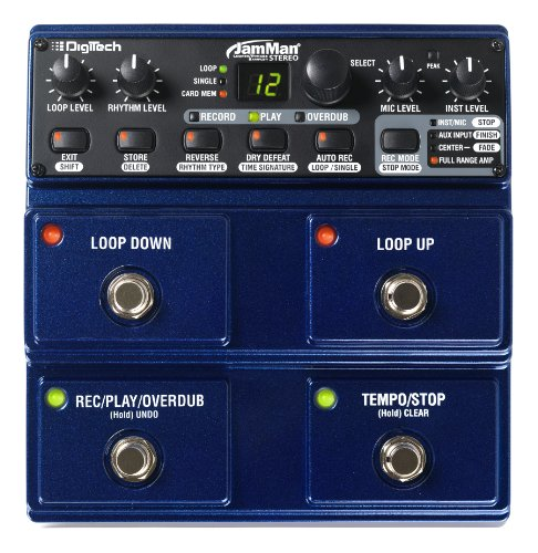 Digitech Jml2 Jamman Stereo Looper Pedal