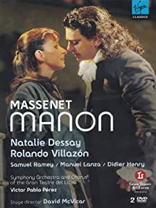 manon dessay villazon liceu $massenet: manon/dessay, villazon dvd - classics today $massenet: manon/dessay, villazon dvd.