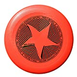 Eurodisc 175g Ultimate Frisbee Star Red (100% Organic!)