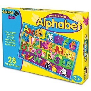 Search & Learn Alphabet 28 Piece Children's Puzzle