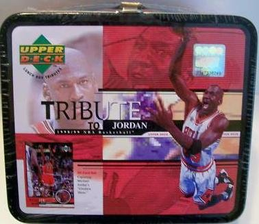 Michael Jordan Chicago Bulls Upper Deck Card Lunchbox at Amazon.com