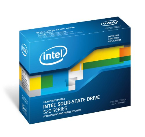 Intel 2.5 inch 520 Series Solid State Drive (240GB, SATA 6Gb/s, 25nm, MLC)