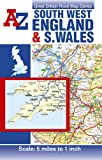img - for South West England and South Wales Road Map AZ (Great Britain Road Maps 5 Miles to 1 Inch) book / textbook / text book