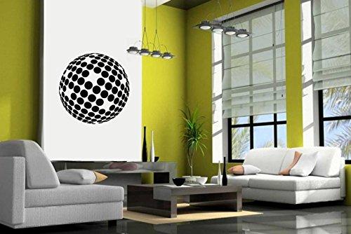 Wall Decal Vinyl Sticker Decals Art Decor Design Disco Ball Retro Shine Dance Living Room Fun Drink Modern Bedroom Dorm (R726) front-1024065