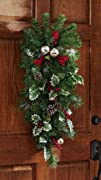 Jingle Bells Christmas Holiday Decorative Door Swag By Collections
