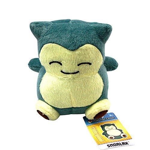 Anime Cute Pocket Monster Pokemon Snorlax Stuffed Plush Doll Animal Figure Toy