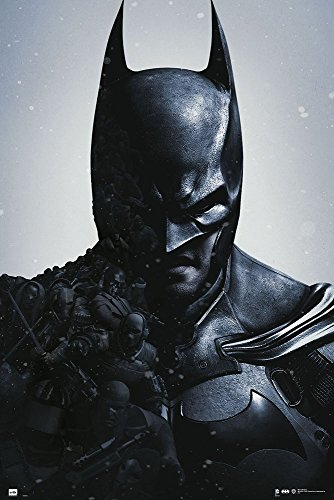 Poster Batman Arkham Origins + accessori