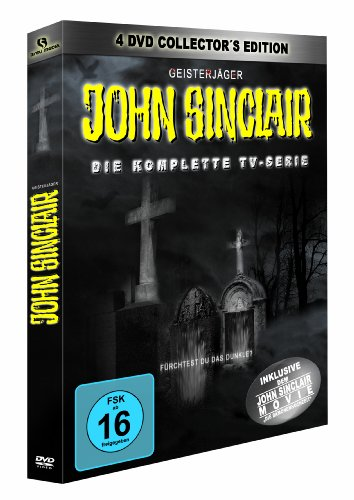 John Sinclair - TV Serie Collector`s Edition (4 DVDs) [Collector's Edition]