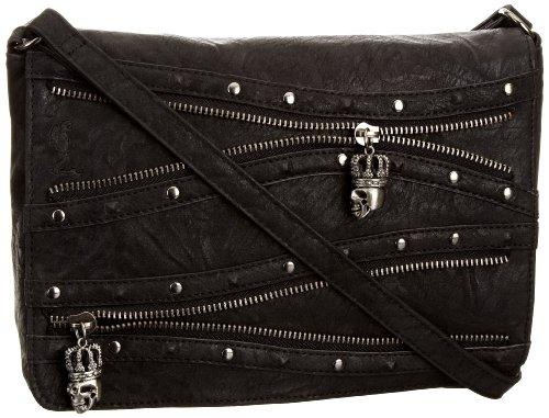 Religion Women's Intersect Cross Body Bag Black