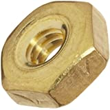 Brass Hex Nut, Right Hand Threads, Meets ASME B18.6.3, Inch