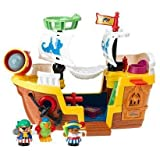 Fisher-Price Little People Lil Pirate Ship (Manufacturer recommended age: 24 months - 5 years)