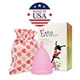 Anigan EvaCup (Made in USA) - Cherry Blossom (Small) Menstrual Cup (US Patent Pending) Fast Shipping