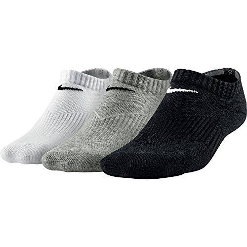 Nike - 3P Yth Ctn Cush No Show W/Moist Mgt Sx4721-967 - R3034 - S
