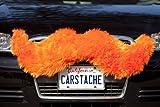 Carstache Tiger Orange Car Mustache