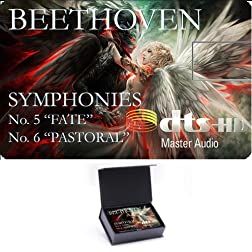 High Definition Music Card - THE FUTURE OF RECORDED MUSIC -Prototype 2020 - Beethoven Symphony Nos. 5&6 [Blu-ray]