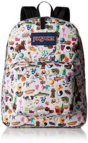 Jansport Superbreak Backpack Multi Stickers