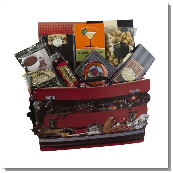 Art of Appreciation Gift Baskets   Handyman's Toolbox of Treats Gift Bag Tote
