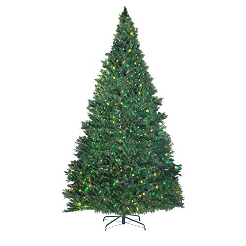 Elf Stor Superior Light Show Christmas Tree W/1000 Multicolor Led Lights 9' Tall