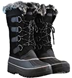 Women's Khombu North Star Thermolite Weather Rated Winter Snow Boots (8M)