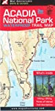 img - for Acadia National Park Waterproof Trail Map, Maine book / textbook / text book