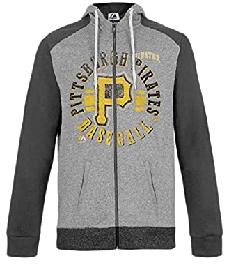 Majestic Women's Pittsburgh Pirates Flash Pitch Hoodie, Plus Sizing