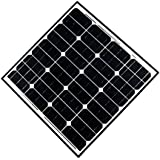 ALEKO® 60W 60-Watt Monocrystalline Solar Panel