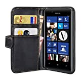 PEDEA Wallet Flip Case for Nokia Lumia 720 - Black