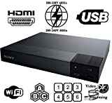 2016 SONY BDP-S3700 Built in 2.4/5.0 Ghz Wi-Fi Multi Zone Region Code Free Blu Ray - DVD - CD Player - PAL/NTSC - Worldwide Voltage 100~240V - 1 USB 1 HDMI 1 COAX 1 ETHERNET Connections + 6 Feet HDMI Cable Included.